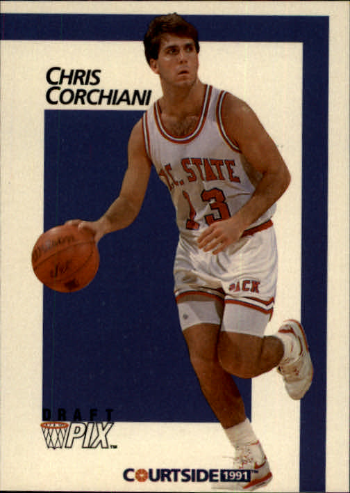 1991 Courtside #13 Chris Corchiani