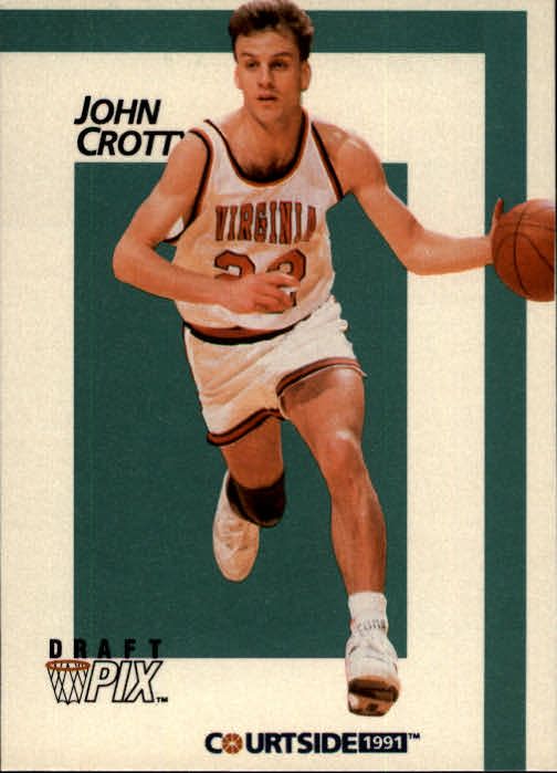 1991 Courtside #14 John Crotty