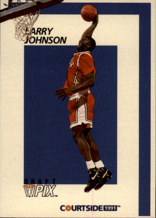 1991 Courtside #31 Larry Johnson