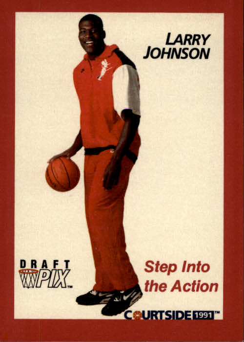 1991 Courtside #45 Larry Johnson POY