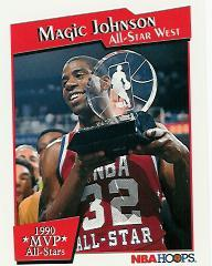 1991-92 Hoops All-Star MVP's #11 Magic Johnson