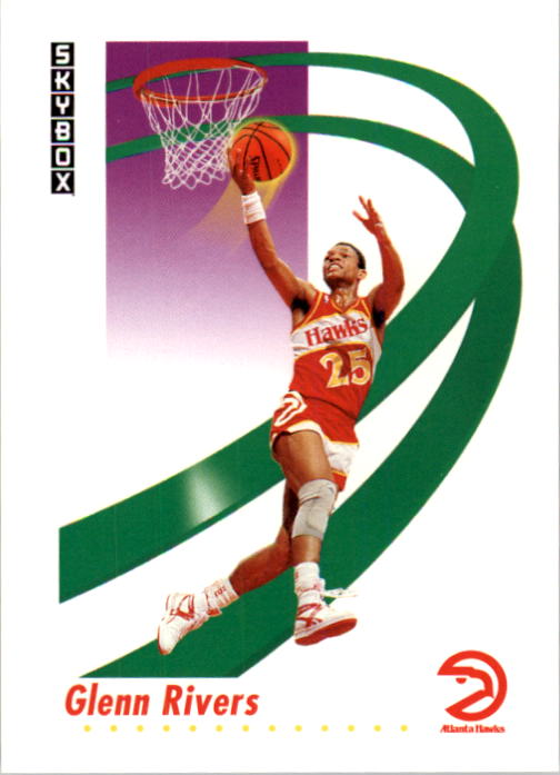 1991-92 SkyBox #7 Doc Rivers