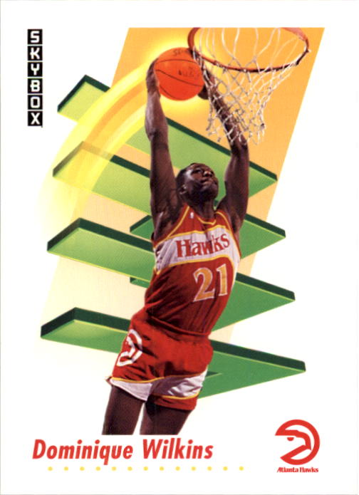 1991-92 SkyBox #10 Dominique Wilkins