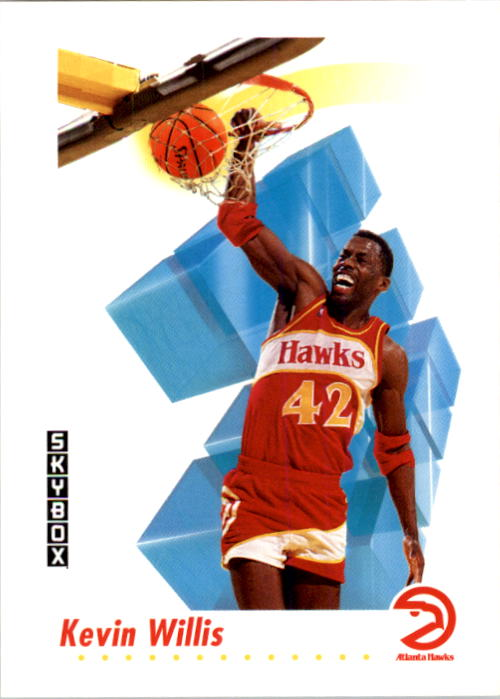 1991-92 SkyBox #11 Kevin Willis