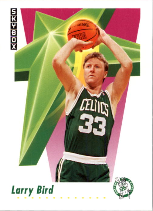1991-92 SkyBox #12 Larry Bird