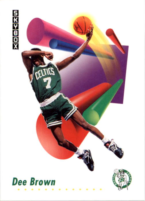 1991-92 SkyBox #13 Dee Brown FSBC