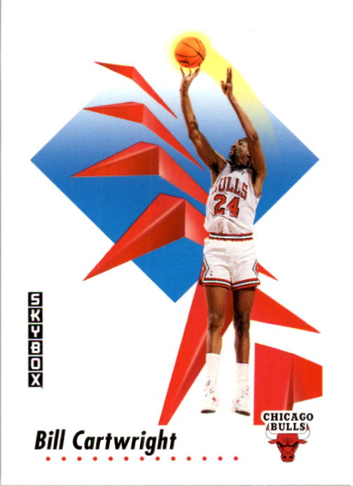 1991-92 SkyBox #35 Bill Cartwright