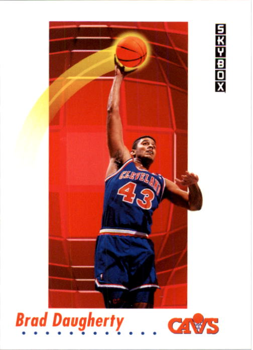 1991-92 SkyBox #47 Brad Daugherty