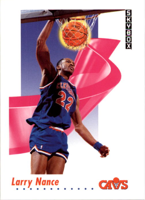 1991-92 SkyBox #52 Larry Nance