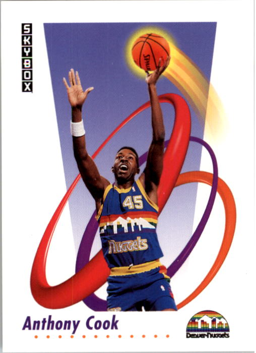 1991-92 SkyBox #69 Anthony Cook