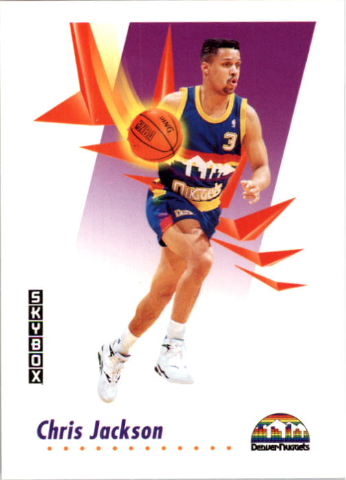 1991-92 SkyBox #70 Chris Jackson