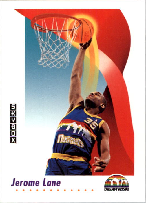 1991-92 SkyBox #71 Jerome Lane