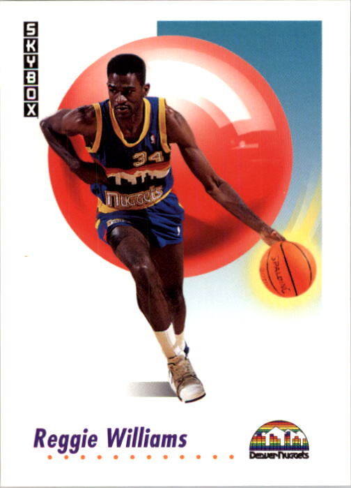 1991-92 SkyBox #75 Reggie Williams