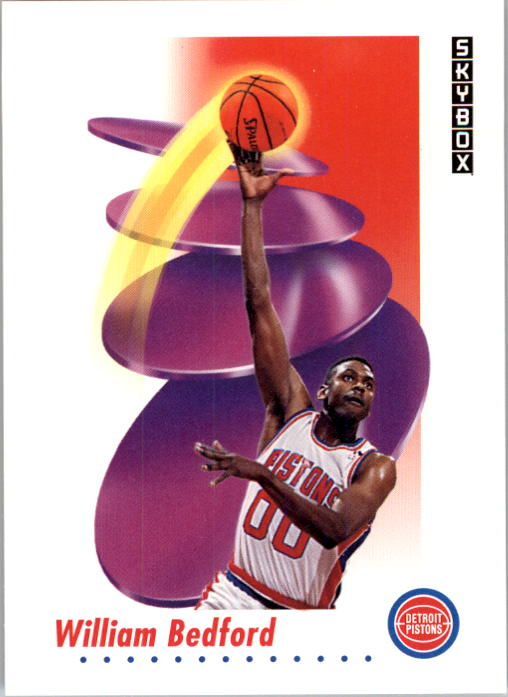 1991-92 SkyBox #79 William Bedford