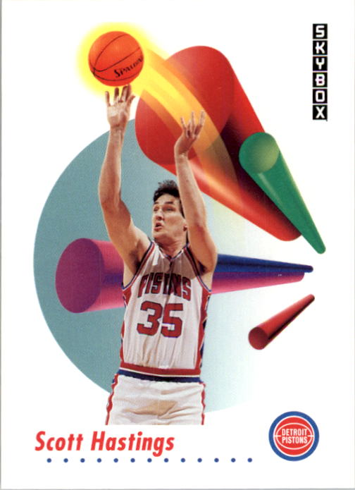 1991-92 SkyBox #83 Scott Hastings
