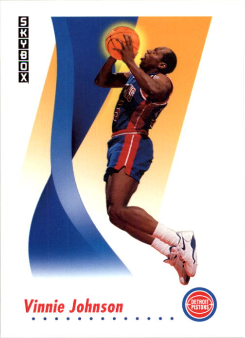 1991-92 SkyBox #84 Vinnie Johnson