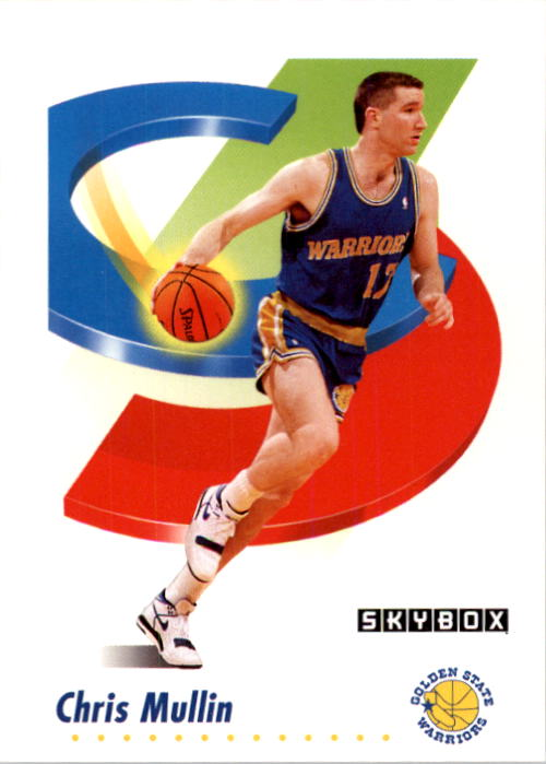 1991-92 SkyBox #96 Chris Mullin