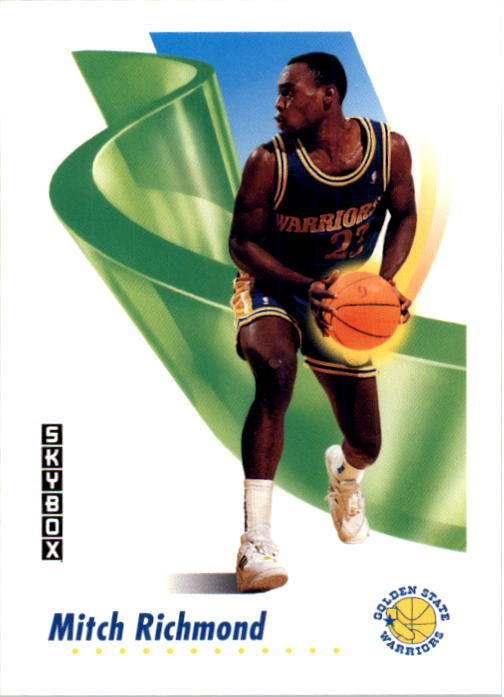 1991-92 SkyBox #98 Mitch Richmond