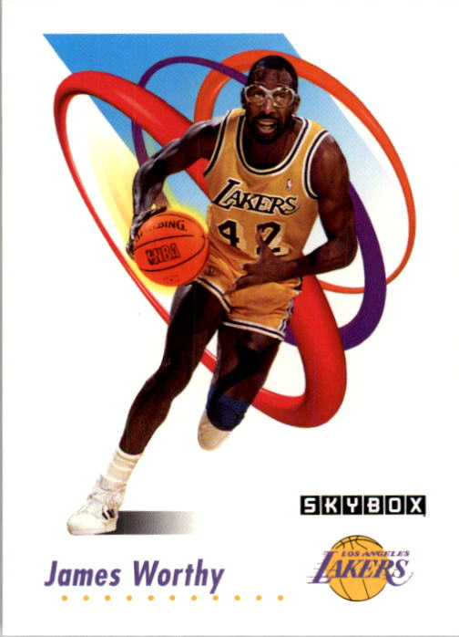 1991-92 SkyBox #143 James Worthy