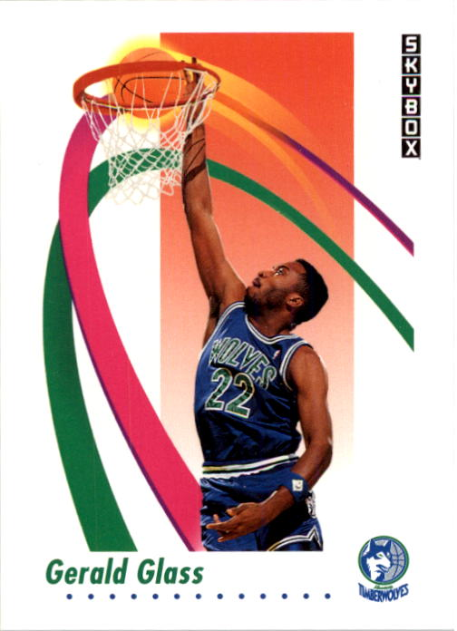 1991-92 SkyBox #170 Gerald Glass