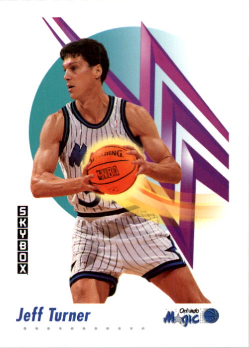 1991-92 SkyBox #208 Jeff Turner