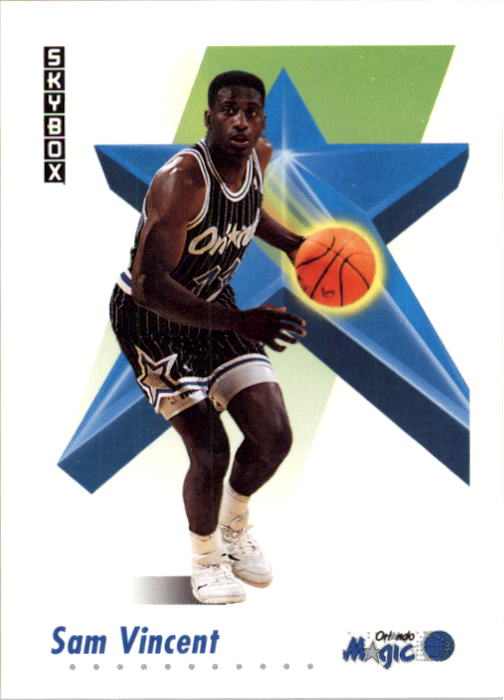 1991-92 SkyBox #209 Sam Vincent