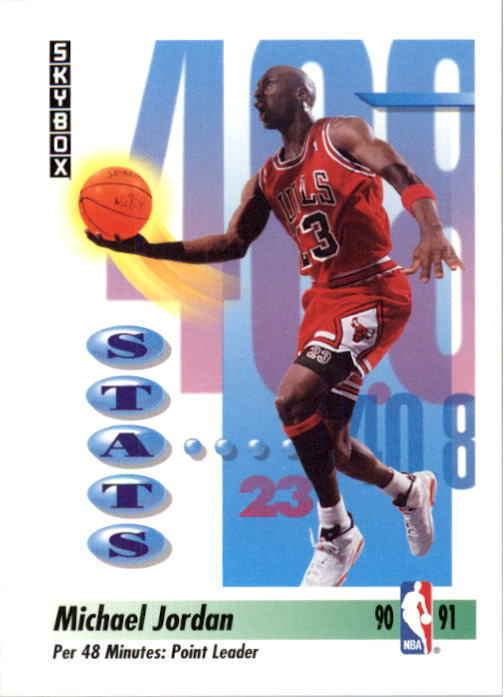 1991-92 SkyBox #307 Michael Jordan Points