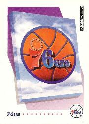1991-92 SkyBox #370 Philadelphia 76ers