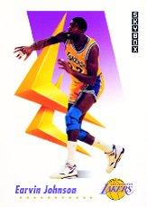 1991-92 SkyBox #417 Magic Johnson GF