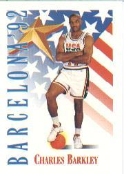 1991-92 SkyBox #530 Charles Barkley USA