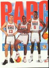 1991-92 SkyBox #544 Team USA 1