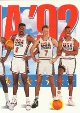 1991-92 SkyBox #546 Team USA 3 front image
