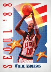 1991-92 SkyBox #547 Willie Anderson USA