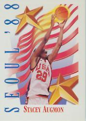 1991-92 SkyBox #548 Stacey Augmon USA