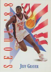 1991-92 SkyBox #550 Jeff Grayer USA
