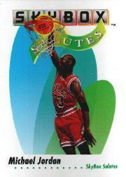 1991-92 SkyBox #572 Michael Jordan SAL