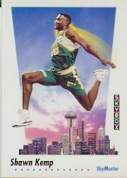 1991-92 SkyBox #584 Shawn Kemp SKM