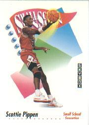 1991-92 SkyBox #606 Scottie Pippen SMALL