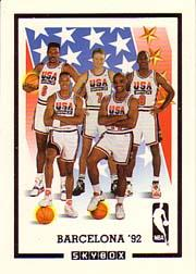 1991-92 SkyBox #NNO Team USA Card