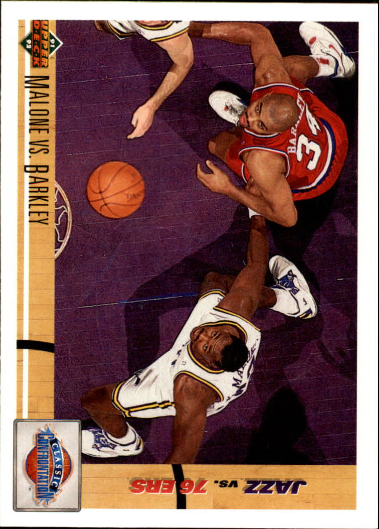 1991-92 Upper Deck #31 K.Malone/C.Barkley CC