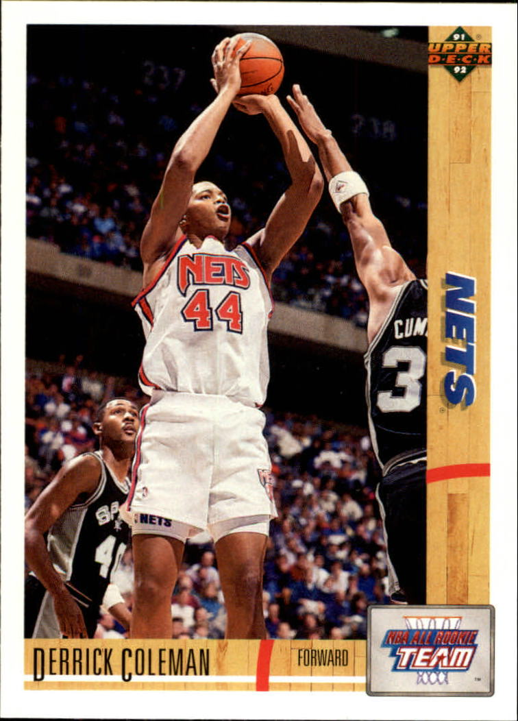 1991-92 Upper Deck #35 Derrick Coleman ART