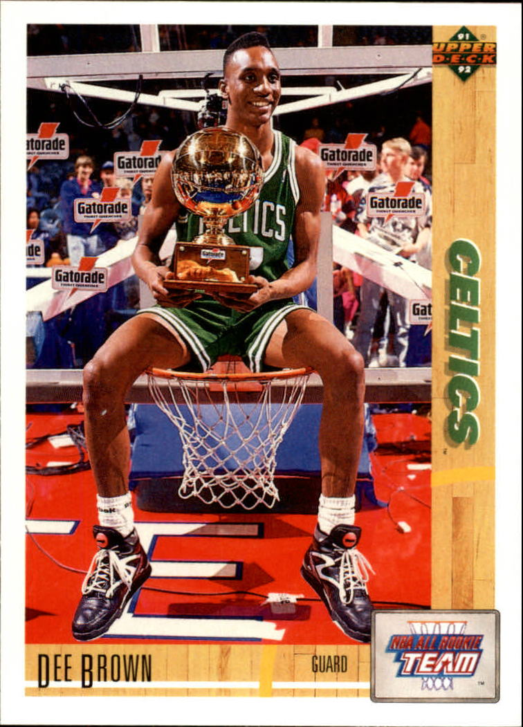 1991-92 Upper Deck #37 Dee Brown ART