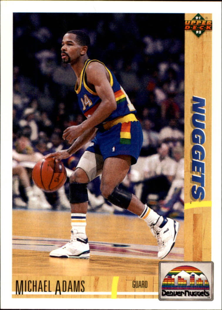 1991-92 Upper Deck #43 Michael Adams