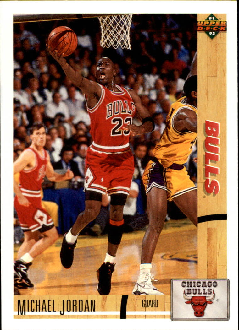 1991-92 Upper Deck #44 Michael Jordan