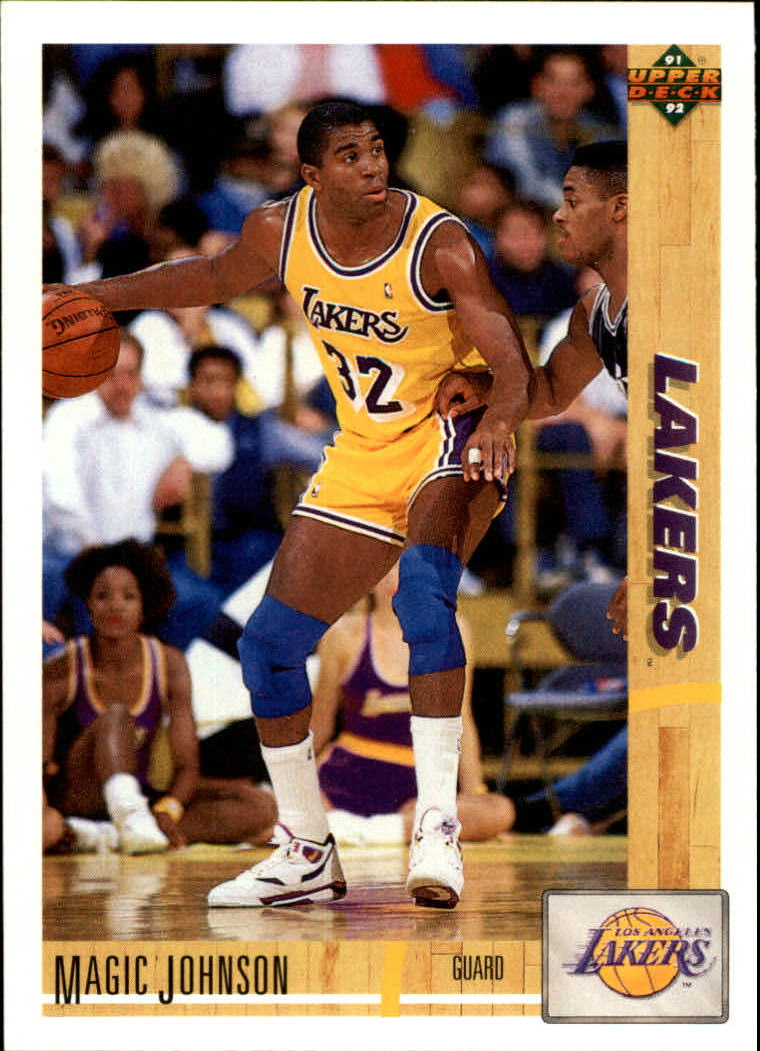 1991-92 Upper Deck #45 Magic Johnson front image