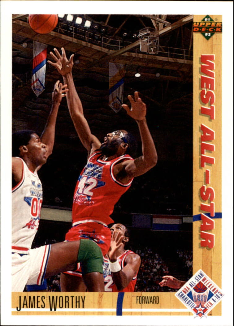1991-92 Upper Deck #49 James Worthy AS