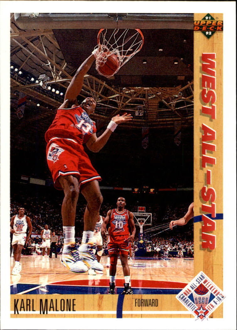 1991-92 Upper Deck #51 Karl Malone AS