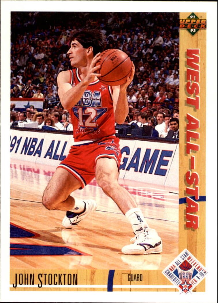 1991-92 Upper Deck #52 John Stockton AS