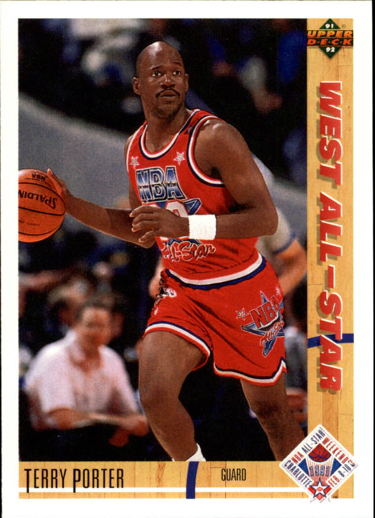 1991-92 Upper Deck #54 Terry Porter AS