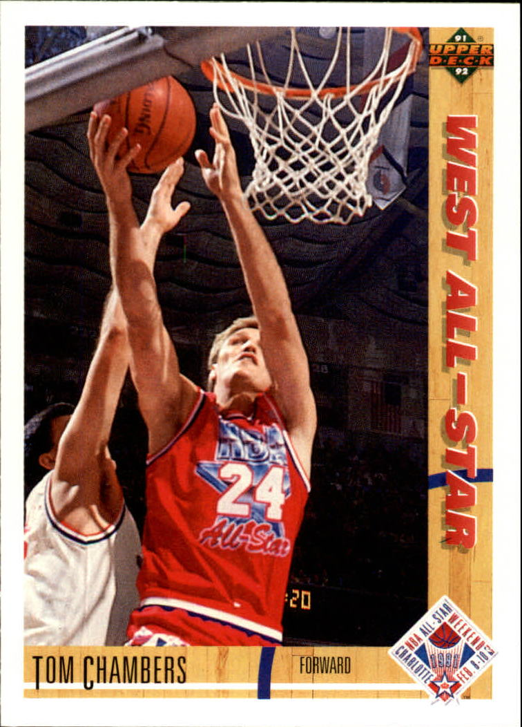 1991-92 Upper Deck #56 Tom Chambers AS
